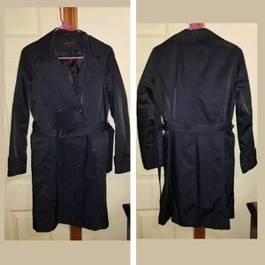 Anne Klein Belted Trench Coat